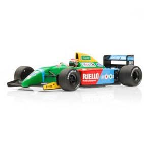 Benetton Ford B190 Nelson Piquet (1990) Fórmula 1 Minichamps F1