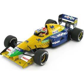 Benetton Ford B191 Nelson Piquet (1991) Fórmula 1 Minichamps F1