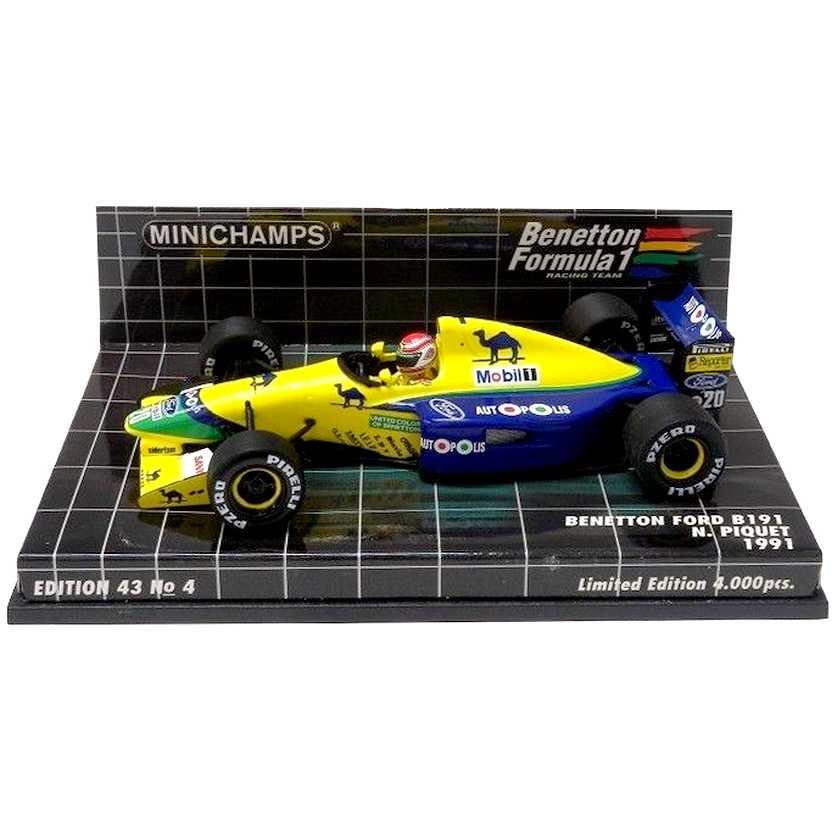 Benetton Ford B191 Nelson Piquet (1991) Minichamps escala 1/43