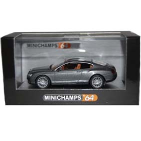 Bentley Continental GT ( 2008 ) Minichamps escala 1/64 640139600