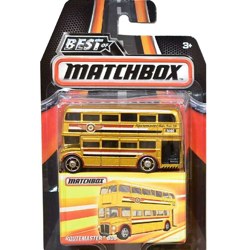 Best of Matchbox Routemaster bus (ônibus ingles de 2 andares) MB694 DKC92