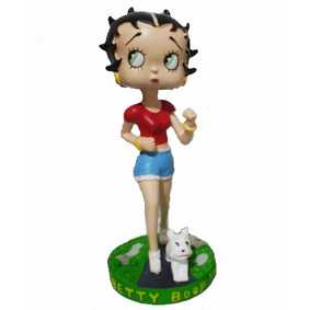 Betty Boop correndo