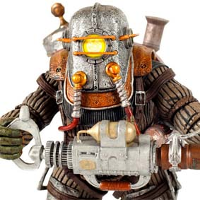 Bioshock 2 Neca Big Daddy Rosie figure series 2 Ultra Deluxe Action Figure
