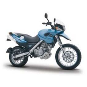 BMW F 650 GS miniatura de moto Maisto escala 1/18