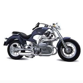 BMW R1200C miniatura de moto Maisto escala 1/18
