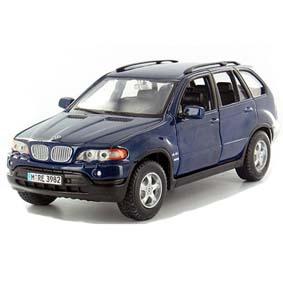 BMW X5 Miniatura Burago escala 1/24