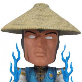 Bobble Head Mortal Kombat - Raiden (balança a cabeça) Funko do Brasil