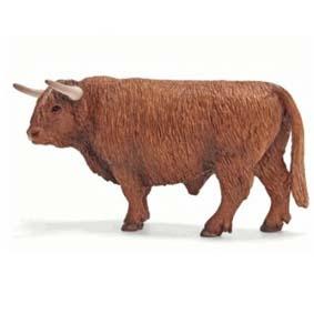 Boi escocês 13658 (Brinquedo Schleich Brasil) Bull Scottish Highland