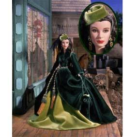 Boneca Barbie Coleção Timeless Treasures Scarlett O Hara ( Vivien Leight ) LACRADA