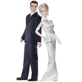 Boneca Barbie do filme Pillow Talk :: Boneco do Rock Hudson e da Doris Day