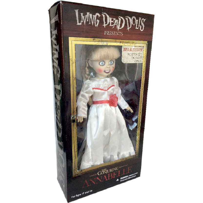 Boneca Colecionável Living Dead Dolls Annabelle Mezco Toyz action figures