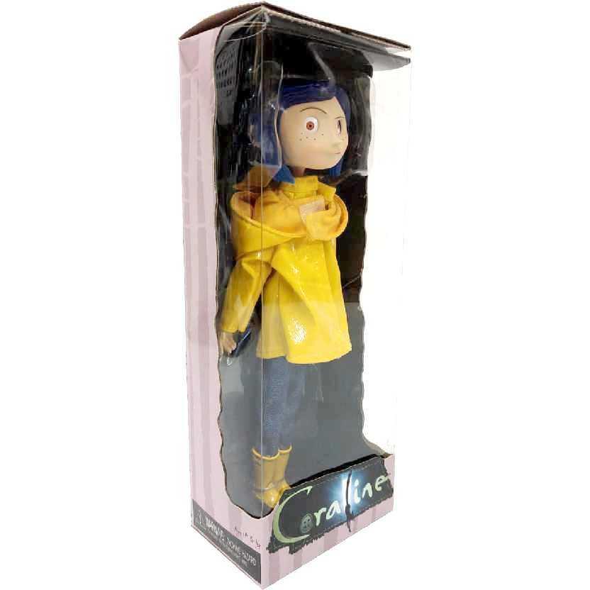 Boneca Coraline Jones e o Mundo Secreto Neca com olhos ajustáveis