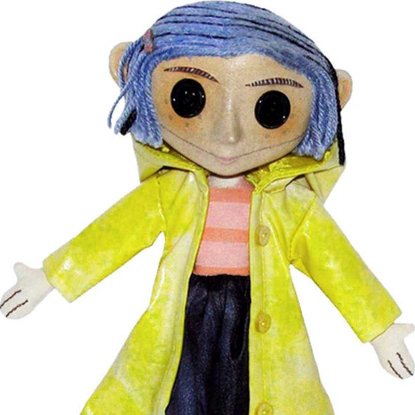 Boneca Coraline marca Neca Authentic Move Prop Replica action figure