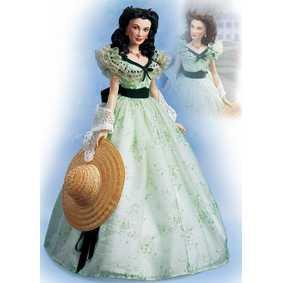 Boneca Franklin Mint Scarlett O hara - E o Vento Levou