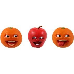 Boneco A Laranja Irritante e a Maçã :: Annoying Orange and Apple Figure
