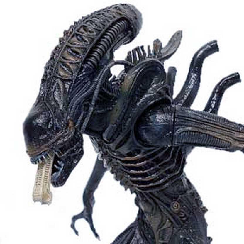 Boneco Alien Warrior H.R Giger Neca (aberto) SEM EMBALAGEM
