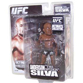 Boneco Anderson Silva The Spider - Bonecos de Lutadores UFC