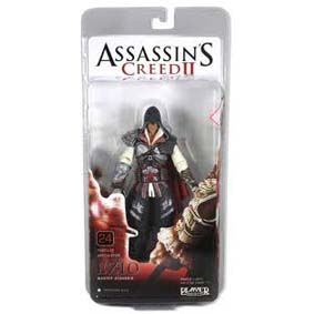 Boneco Assassins Creed II 2 - Ezio preto da Neca