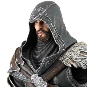 Boneco Assassins Creed Revelations Ezio 2012 Neca Action Figure (aberto) com arco