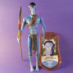 Boneco Avatar Jake Sully (aberto)