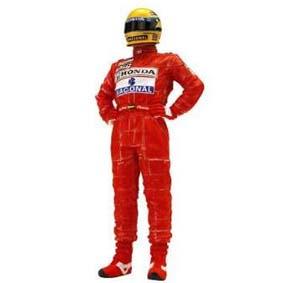 Boneco Ayrton Senna escala 1/18 True Scale Miniatures (1991) Mclaren Honda