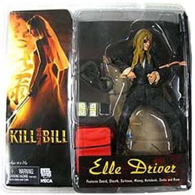 Boneco Best of Kill Bill - Elle Driver ( Daryl Hannah )