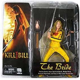 Boneco Best of Kill Bill - The Bride ( Uma Thurman ) Boneca Beatrix Kiddo