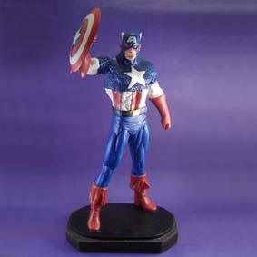 Boneco Capitão América escala 1/6 de resina para colecionar