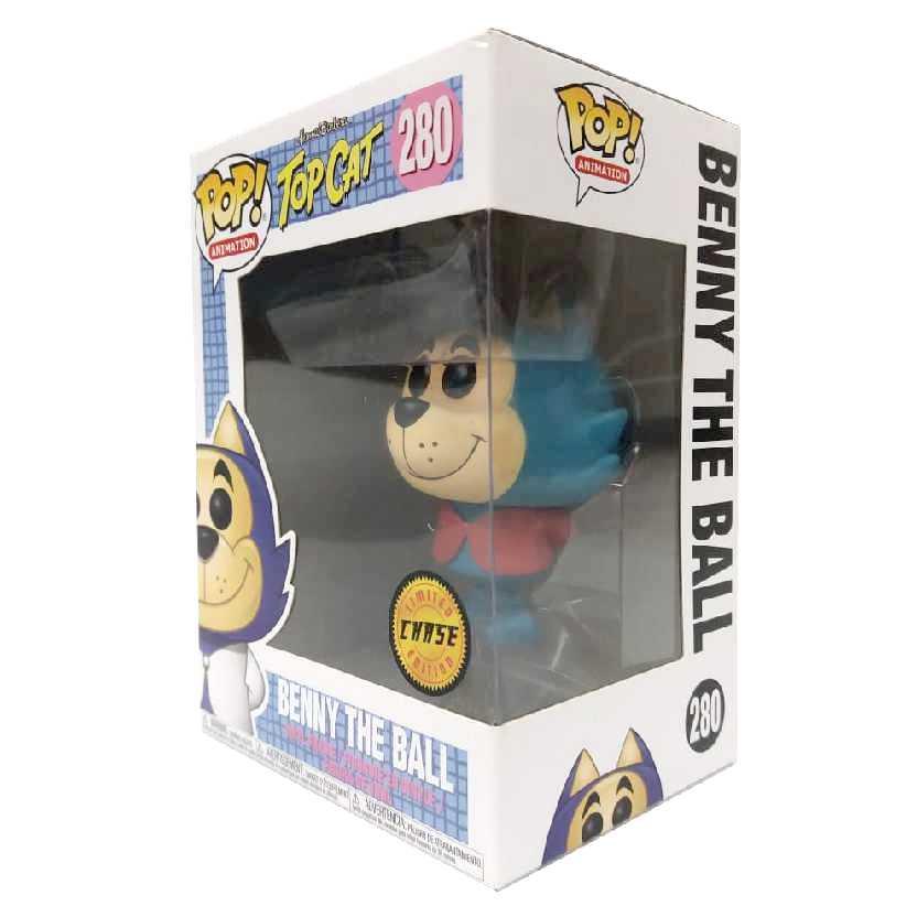 Boneco Chase Funko Pop Batatinha Hanna Barbera Top Cat vinyl figure número 280 raro