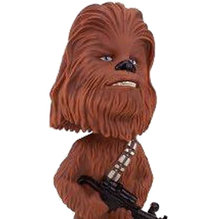 Boneco Chewbacca Bobble Head Wacky Wobbler Funko Figure