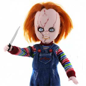 Boneco Chucky do filme A Noiva de Chucky - Mezco Living Dead Dolls Childs Play