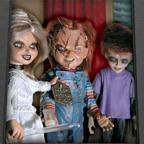 Boneco Chucky, Noiva Tiffany e Glen (comprar raridade Neca Toys no Brasil)
