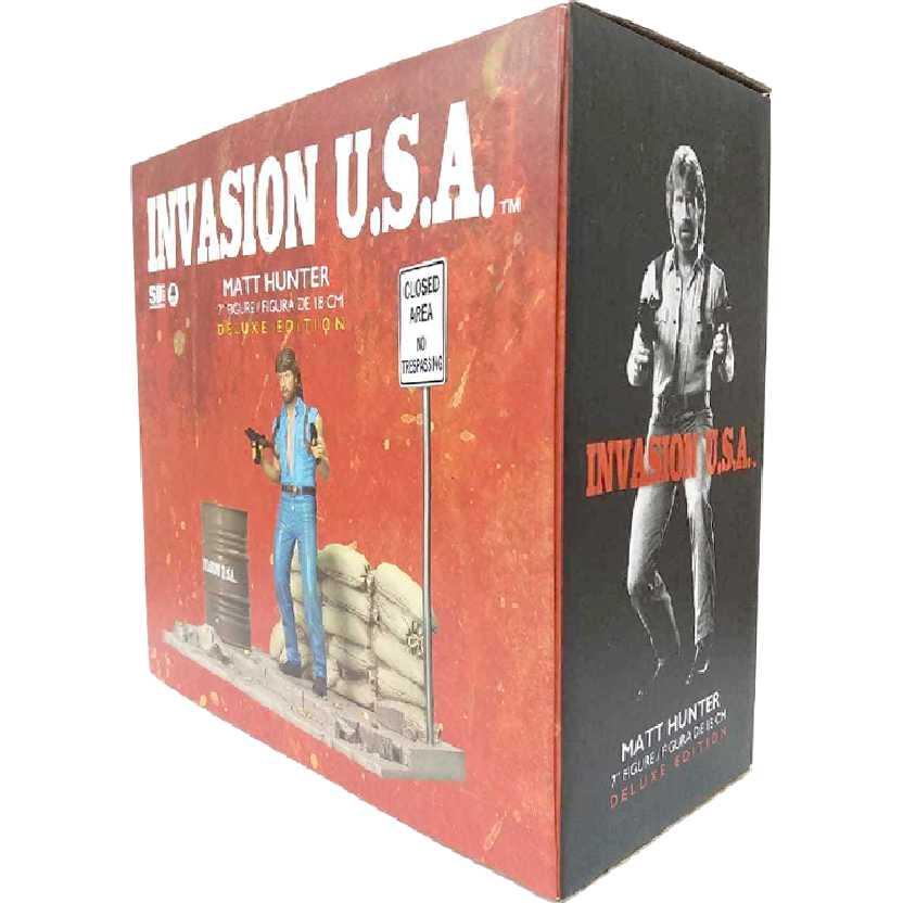 Boneco colecionável do Chuck Norris (Matt Hunter) Invasion U.S.A. marca SD Toys
