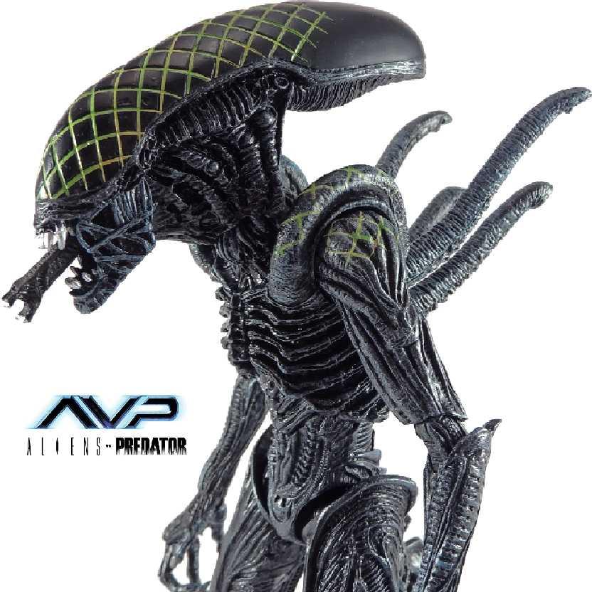 Boneco colecionável Grid Alien: Alien Vs. Predator Neca series 7 action figures