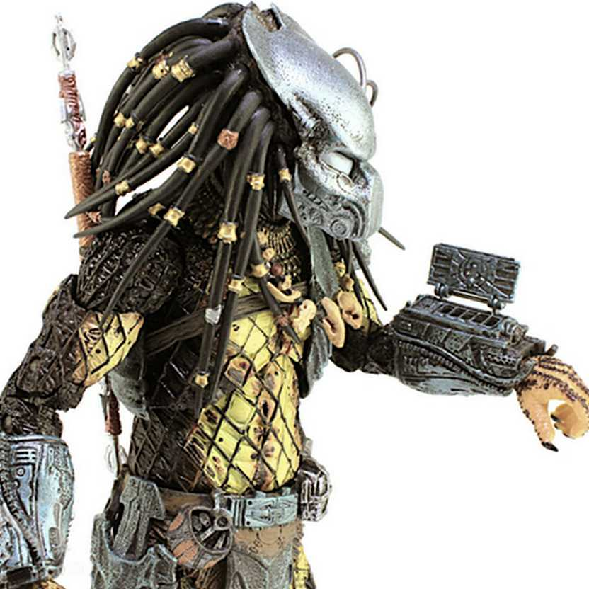 Boneco colecionável Neca Toys Ancient Warrior Predator Alien VS Predador series 15