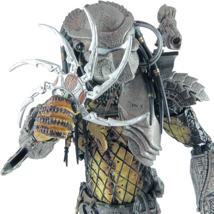 Boneco colecionável Neca Toys Temple Guard Predator Alien VS Predador series 15
