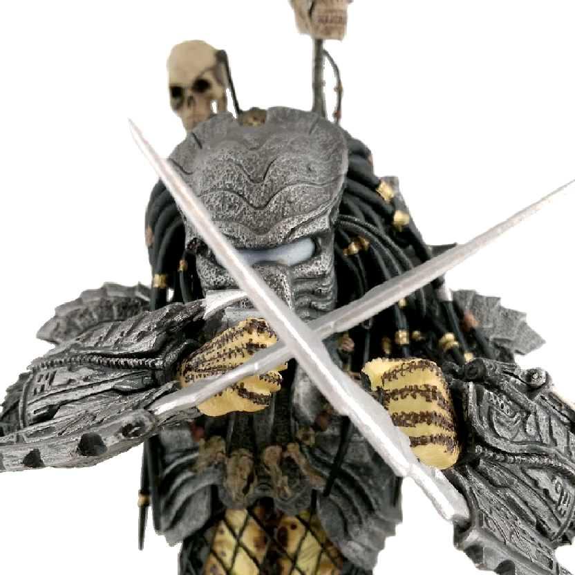 Boneco colecionável Predador Chopper: Neca AVP (Alien Vs. Predator) Predators Series 14