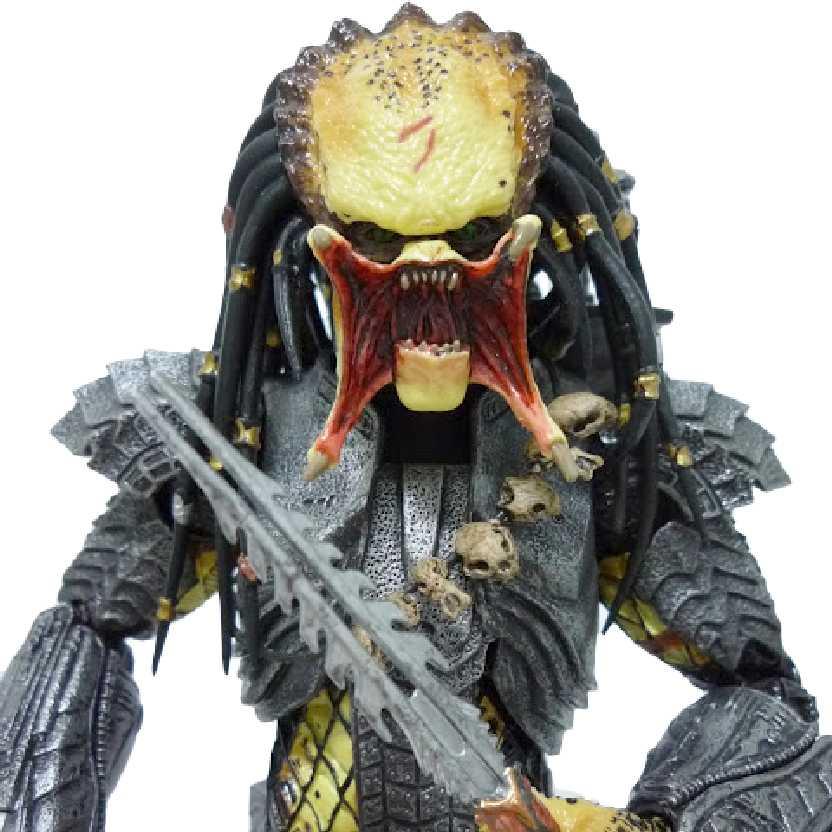 Boneco colecionável Predador Scar: Neca AVP (Alien Vs. Predator) Predators Series 14