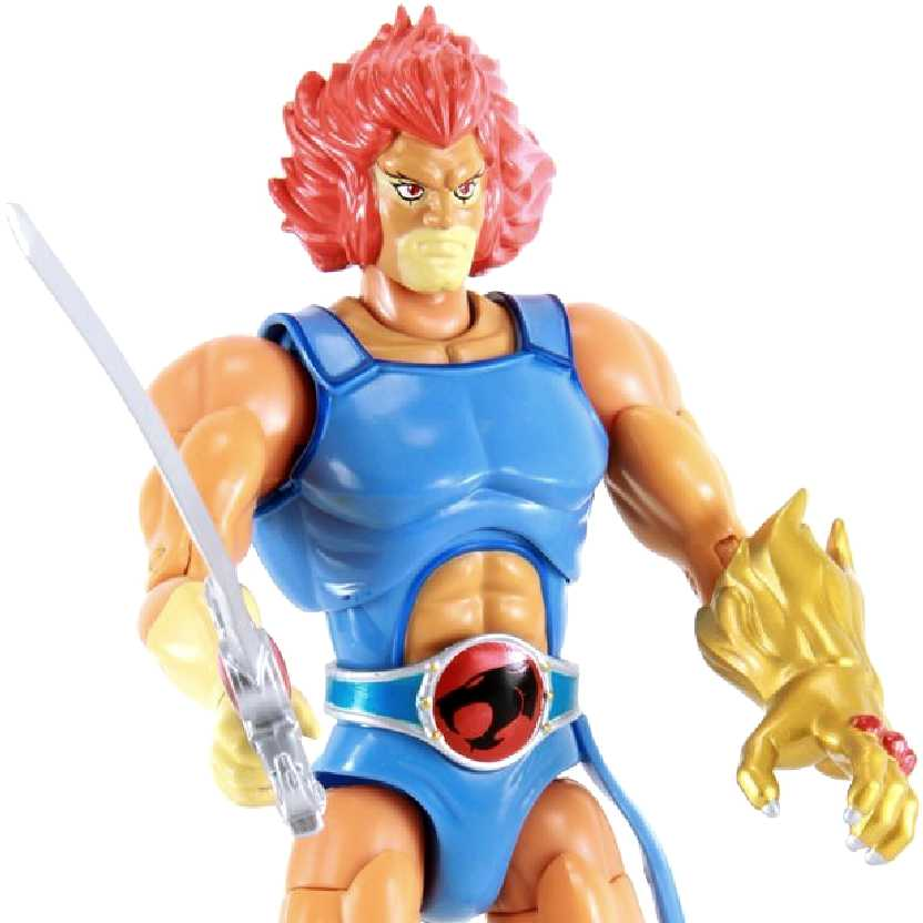 Boneco colecionável ThunderCats Lion-O Bandai Collector Figure Classic (ABERTO)