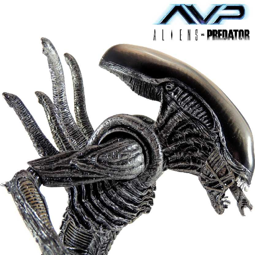 Boneco colecionável Warrior Alien: Alien Vs. Predator Neca series 7 action figures