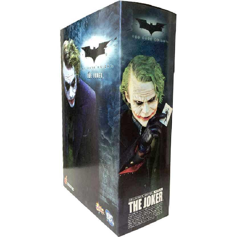 Boneco Coringa Hot Toys MMS68 Joker O Cavaleiro das Trevas The Dark Knight 1/6
