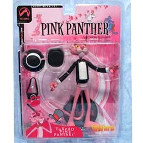 Boneco da Pantera Cor de Rosa / Pink Panther Black Tuxedo TOY FARE exclusive