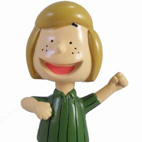 Boneco da Turma do Snoopy / Patty Pimentinha ( Peppermint Patty )