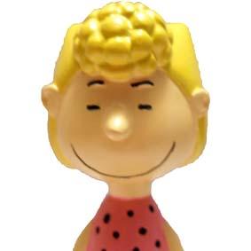 Boneco da Turma do Snoopy Isaura (Peanuts) Sally Brown
