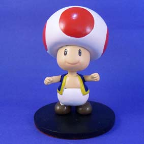 Boneco da Turma do Super Mario Bros Toad
