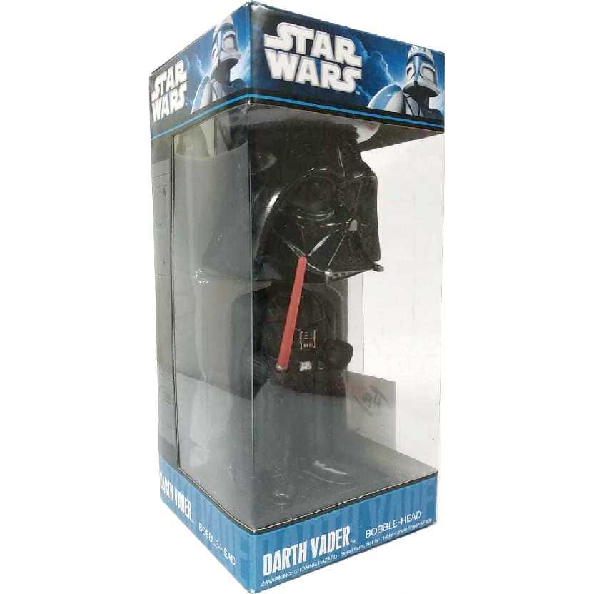 Boneco Darth Vader BobbleHead Wacky Wobbler Funko Star Wars Figure