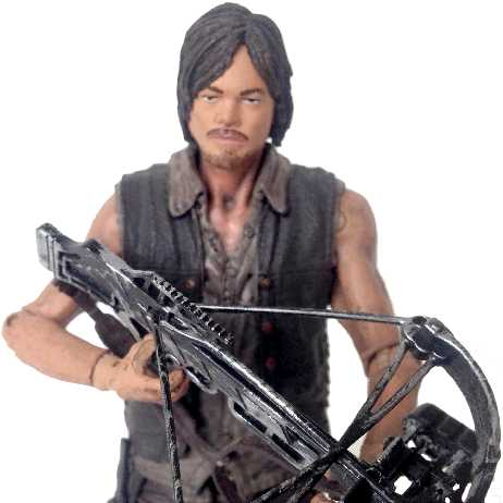 Boneco Daryl Dixon The Walking Dead comprar Bonecos Mcfarlane Toys (aberto)