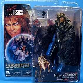 Boneco David Bowie ( Jareth ) Labirinto Labyrinth da Neca Toys