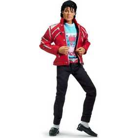 Boneco de Michael Jackson Beat It Playmates Action Figures