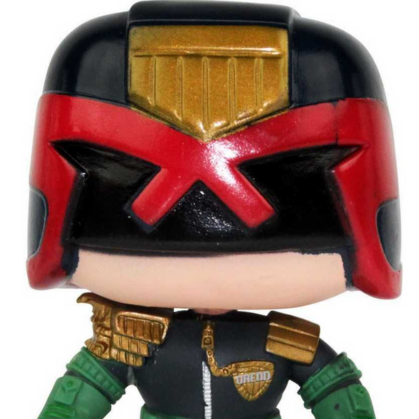 Boneco de Vinil Funko Pop! Heroes Judge Dredd (O Juiz) número 48